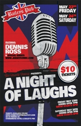 A NIGHT IF LAUGHS AT BAILEY'S PUB