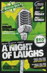 A Night of Laughs! Come join us for a comedy show ft,  Brian Stollery