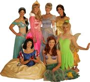 PRINCESSES BY MY PERFECT PRINCESS PARTY